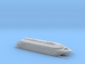 HSC Normandie Express (1:1200) in Smooth Fine Detail Plastic