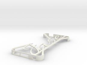 Ipod Touch 5th Gen Minimalist Custom Case - Jase in White Natural Versatile Plastic