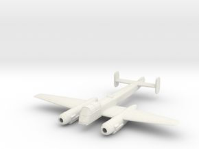 1/200 Arado Ar 240 in White Natural Versatile Plastic
