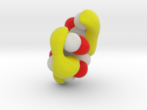 Highest unoccupied pi-MO of cis-butadiene in Full Color Sandstone