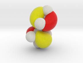 Highest occupied pi-MO (HOMO) of cis-Butadiene in Full Color Sandstone