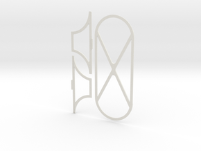 PrintKit in White Natural Versatile Plastic