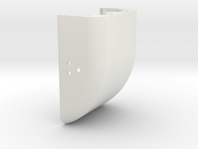 HOUSING COVER A in White Natural Versatile Plastic