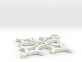 Cross 1 (repaired) (repaired) in White Natural Versatile Plastic