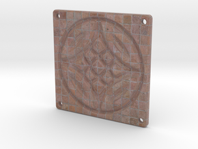 Tile Star Man Cobblestone in Full Color Sandstone