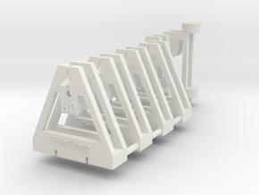 TrackToolz Set - HO Gauge in White Natural Versatile Plastic