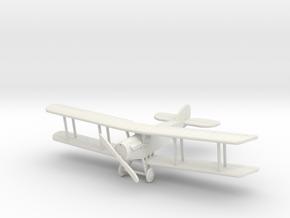 Bristol F.2b 1:144th Scale in White Natural Versatile Plastic