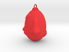 Berserk behelit pendant in Red Processed Versatile Plastic