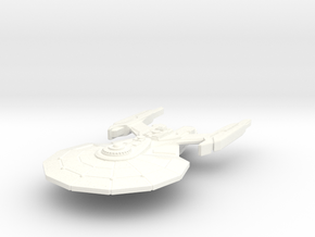 USS Garamond in White Processed Versatile Plastic