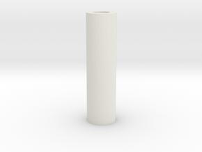 Killkey Tube (repaired) in White Natural Versatile Plastic