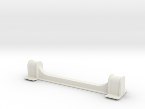 BK1002 Front Dropout Spacer in White Natural Versatile Plastic