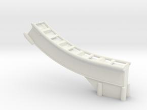 Loopingteil-ROT-vorne-unten in White Natural Versatile Plastic