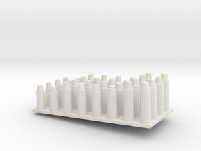 Konusssortiment.stl in White Natural Versatile Plastic