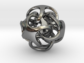 Metatrino Pendant in Premium Silver