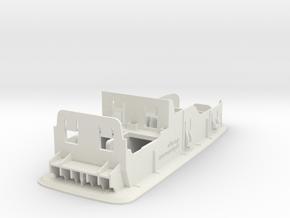 Blende für 2 Fensterheberschalter in White Natural Versatile Plastic