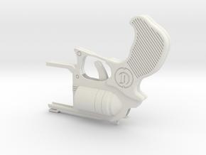 rubber band gun iPhone 5 case in White Natural Versatile Plastic