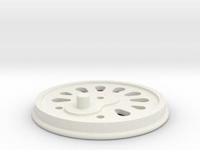 BBZ-001 in White Natural Versatile Plastic
