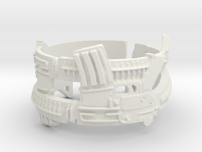 Dual AR-15s #1, Ring Size 10.5 in White Strong & Flexible