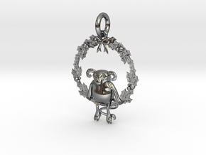 Krampus the Yule Lord in Premium Silver