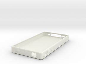 QR CODE IPHONE CASE in White Natural Versatile Plastic