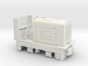 Feldbahn Jung EL105 (Spur 0f) 1:45 in White Natural Versatile Plastic