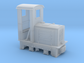 Feldbahn Jung EL105 1:35, geschlossener Führerstan in Smooth Fine Detail Plastic