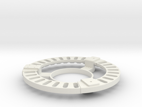 Vent Ring Assembly in White Strong & Flexible