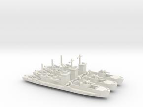 LCI(G) 1/600 Scale 3 Off in White Natural Versatile Plastic