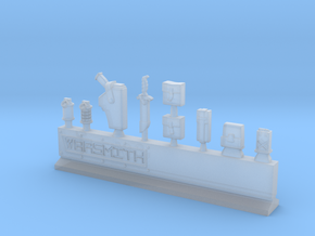 Equipment Sprue in Smooth Fine Detail Plastic