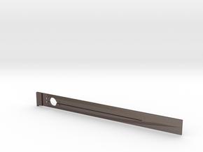 alternative blade in Polished Bronzed Silver Steel