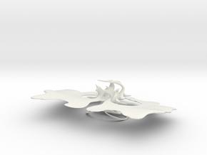 Mortal Kombat in White Natural Versatile Plastic
