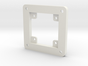 Camera Mount -BETA in White Natural Versatile Plastic