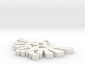 triforce in White Natural Versatile Plastic