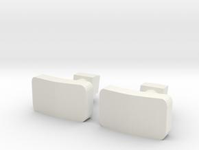Buffer for Autorail De Dion OC2 Nm 1:160 in White Natural Versatile Plastic