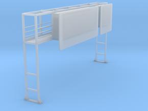 Schilderbrücke Für Diorama.stl in Frosted Ultra Detail