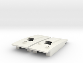 RVJET pocket hatches w. antenna interface in White Natural Versatile Plastic