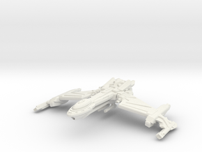 Birdstorm Class Battleship in White Strong & Flexible