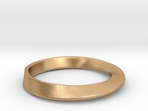 Möbius Ring in Natural Bronze
