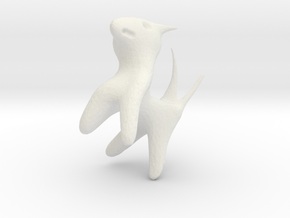 creature in White Natural Versatile Plastic