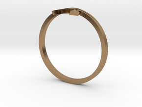 Eye Of Horus (small) in Natural Brass