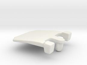 IBM Model F - Pivot Plate 3DScan in White Natural Versatile Plastic