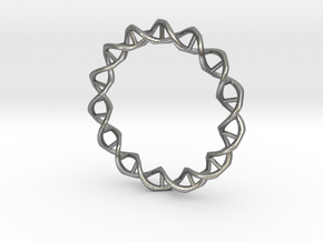 DNA in Natural Silver