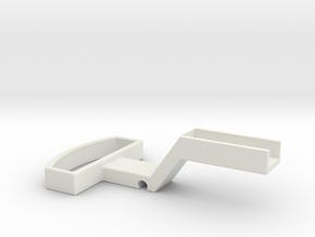 G-scale coupler in White Natural Versatile Plastic