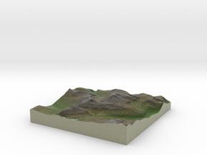Terrafab generated model Fri Sep 27 2013 11:28:01  in Full Color Sandstone