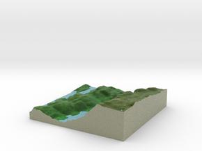 Terrafab generated model Fri Sep 27 2013 13:55:27  in Full Color Sandstone