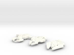 Cardassian 3-Pack in White Processed Versatile Plastic