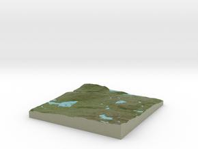Terrafab generated model Fri Sep 27 2013 18:30:29  in Full Color Sandstone