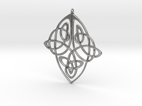 Celtic Pendent 1 in Natural Silver