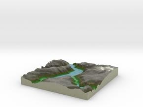 Terrafab generated model Sat Sep 28 2013 20:28:30  in Full Color Sandstone