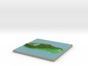 Terrafab generated model Sun Sep 29 2013 15:35:11  in Full Color Sandstone